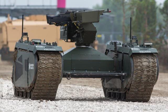 爱沙尼亚THeMIS多用途作战平台,士兵未来的好帮手,配备一挺12