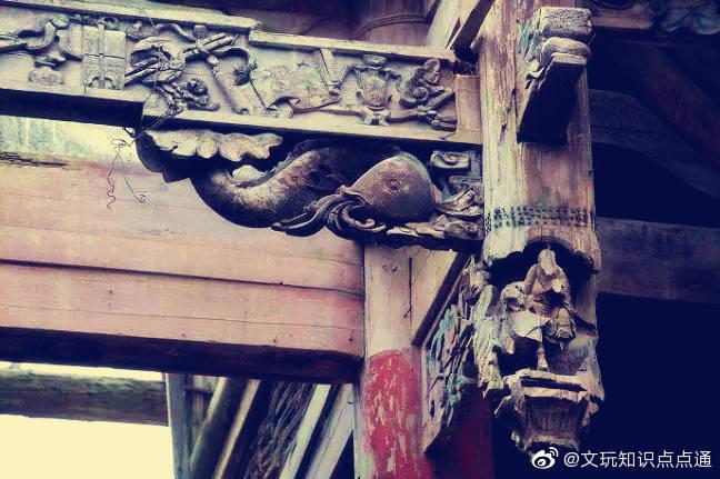中国古建筑 · 垂花柱