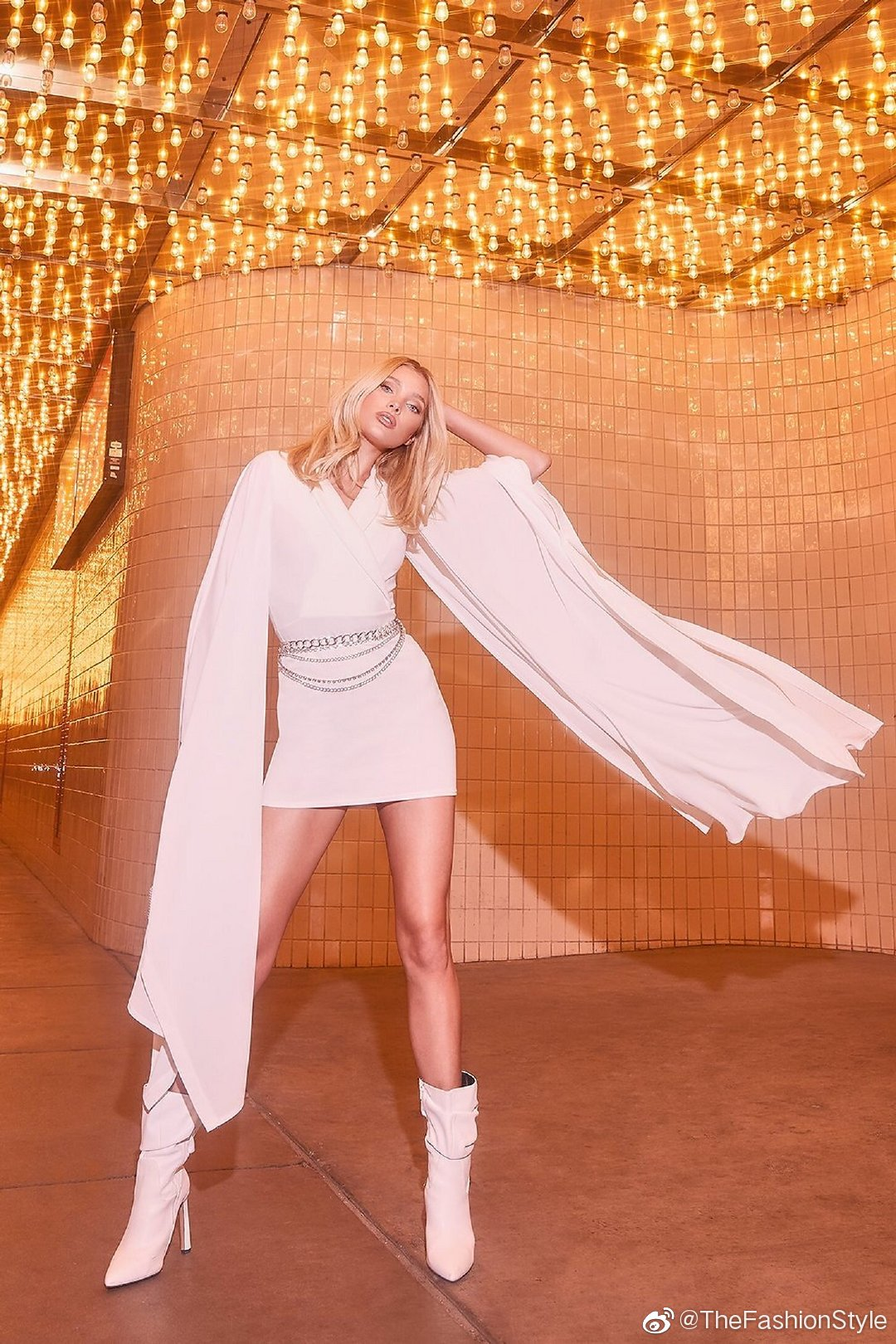 for Boohoo All That Glitters Holiday Campaign