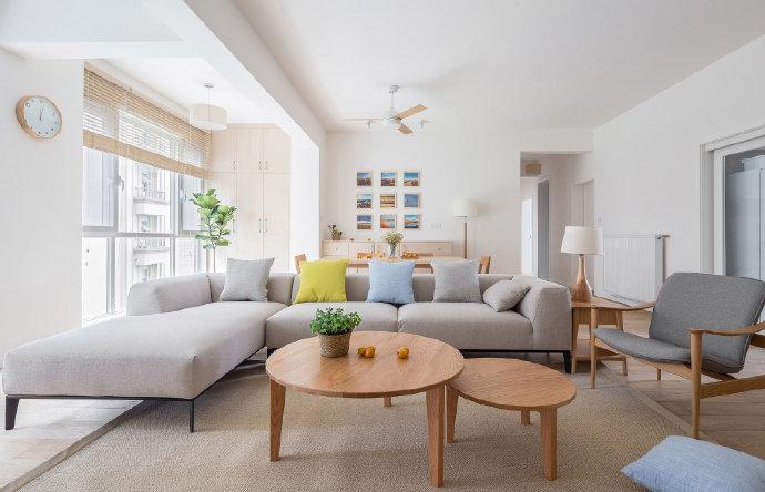 120平米现代简约日式家居