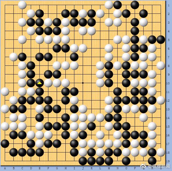 动图棋谱-日本名人战挑战赛七番棋第四局