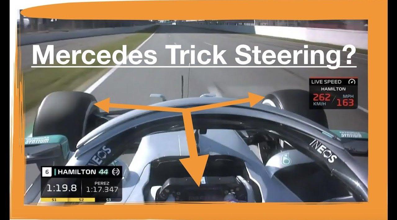 前乔丹F1技术总监加里-安德森分析梅赛德斯W11的双轴转向系统DAS