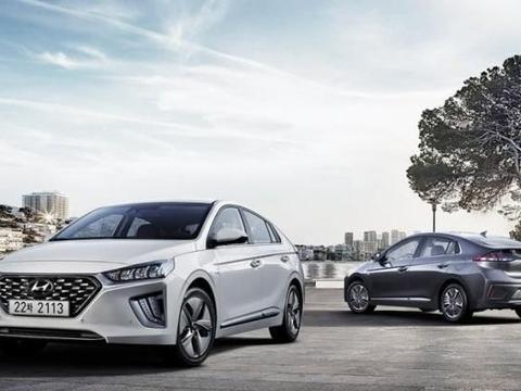 现代紧凑型新能源新款IONIQ新车官图正式发布 将亮相日内瓦车展