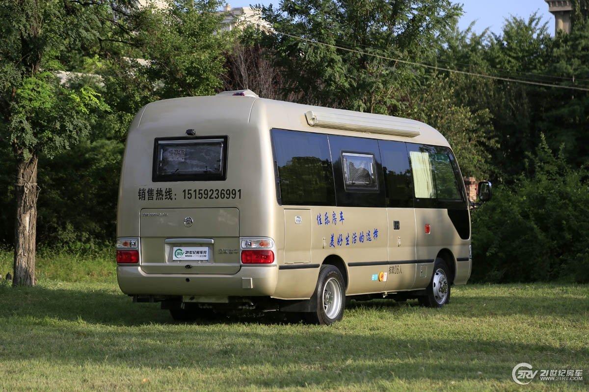 展会价25.8万元仅限1台 佳乐考斯特B型房车亮相房车展