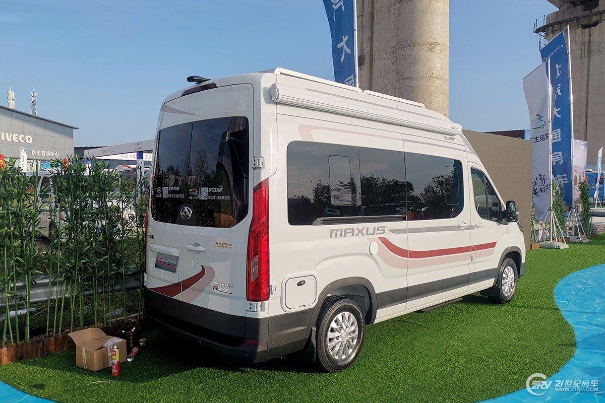 终于来了!上汽MAXUS房车RV90 B型实车北京房车展首秀