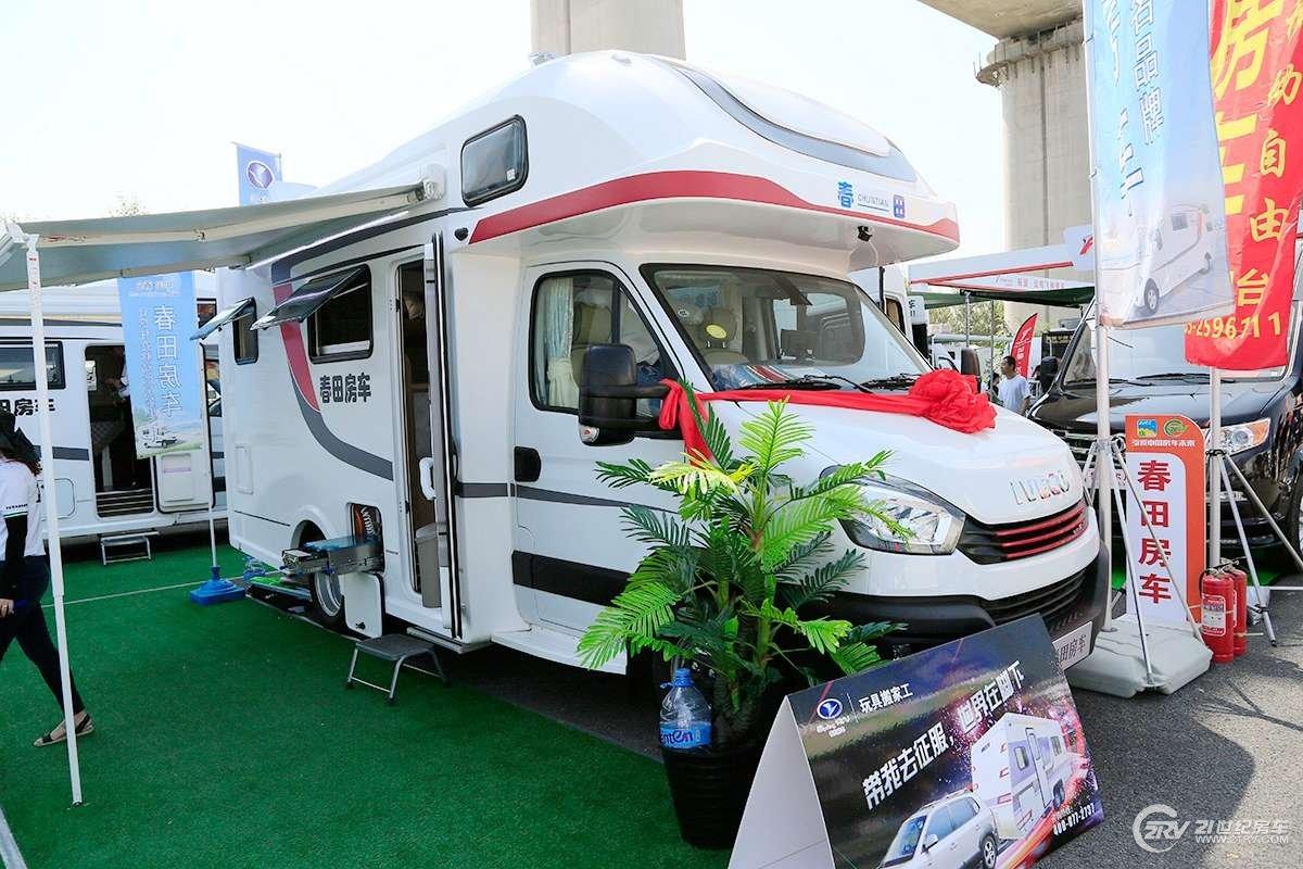 42.8万元起 春田两款车型亮相2019成都房车展