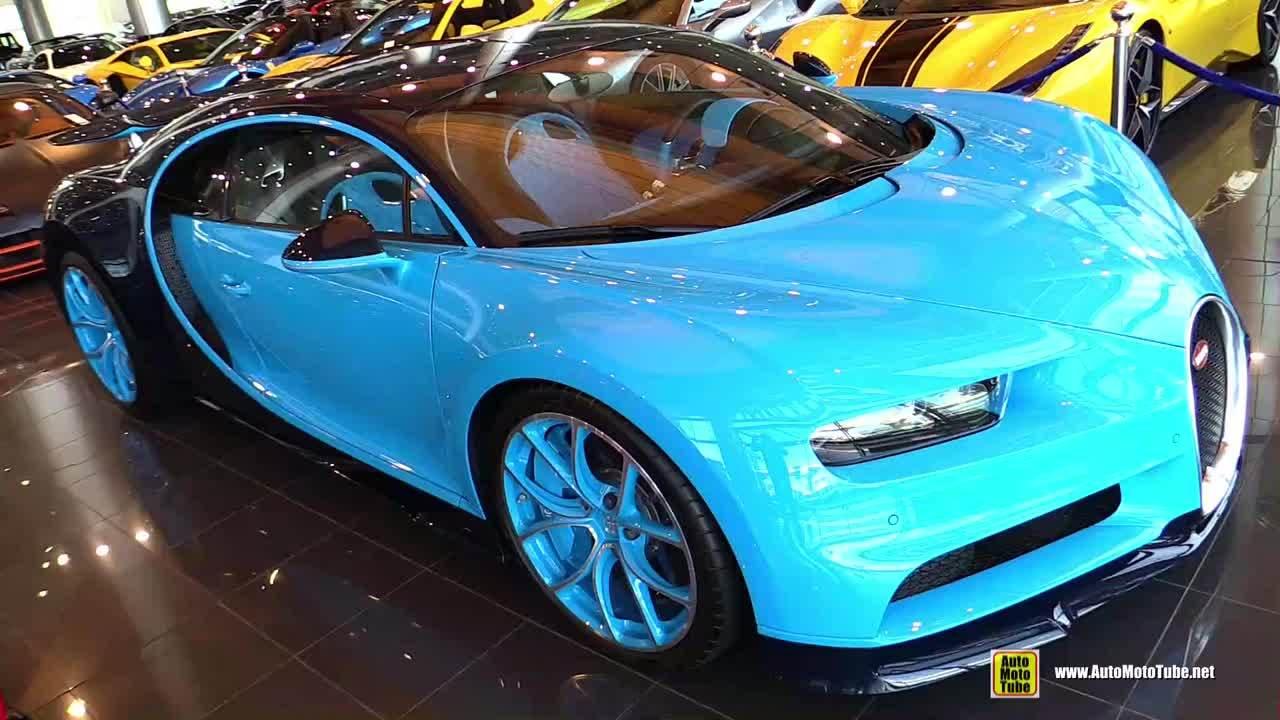 展厅里的2019 Bugatti Chiron -