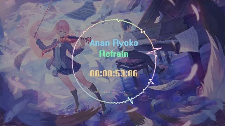 日本钢琴才女Anan Ryoko创作的《Refrain》,旋律优美动听