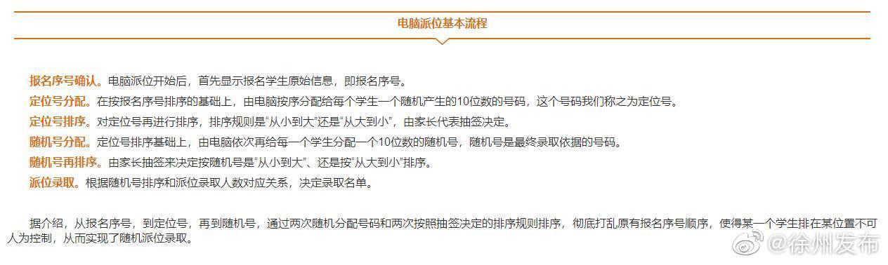 报名人数超过招生人数,徐州九所民办学校将进行电脑派位