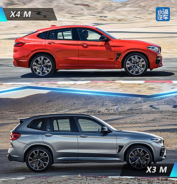 宝马X3 M和X4 M官图发布,依然是买不起系列
