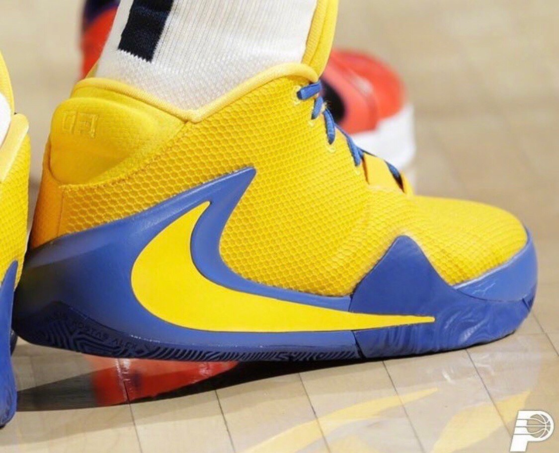 今日鞋报~1 艾伦·霍勒迪 Nike Zoom Freak 12 科比 Nike Z