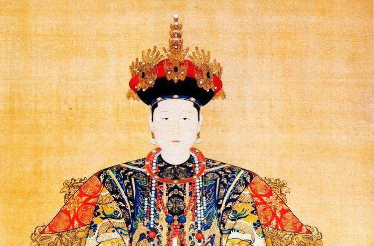 孝康章皇后,佟佳氏(女真族),其祖上是明初投奔明朝的女真人达尔哈齐图片