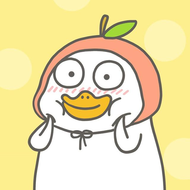 手机壁纸第64期:小刘鸭头像 卡通头像萌萌哒 可爱头像