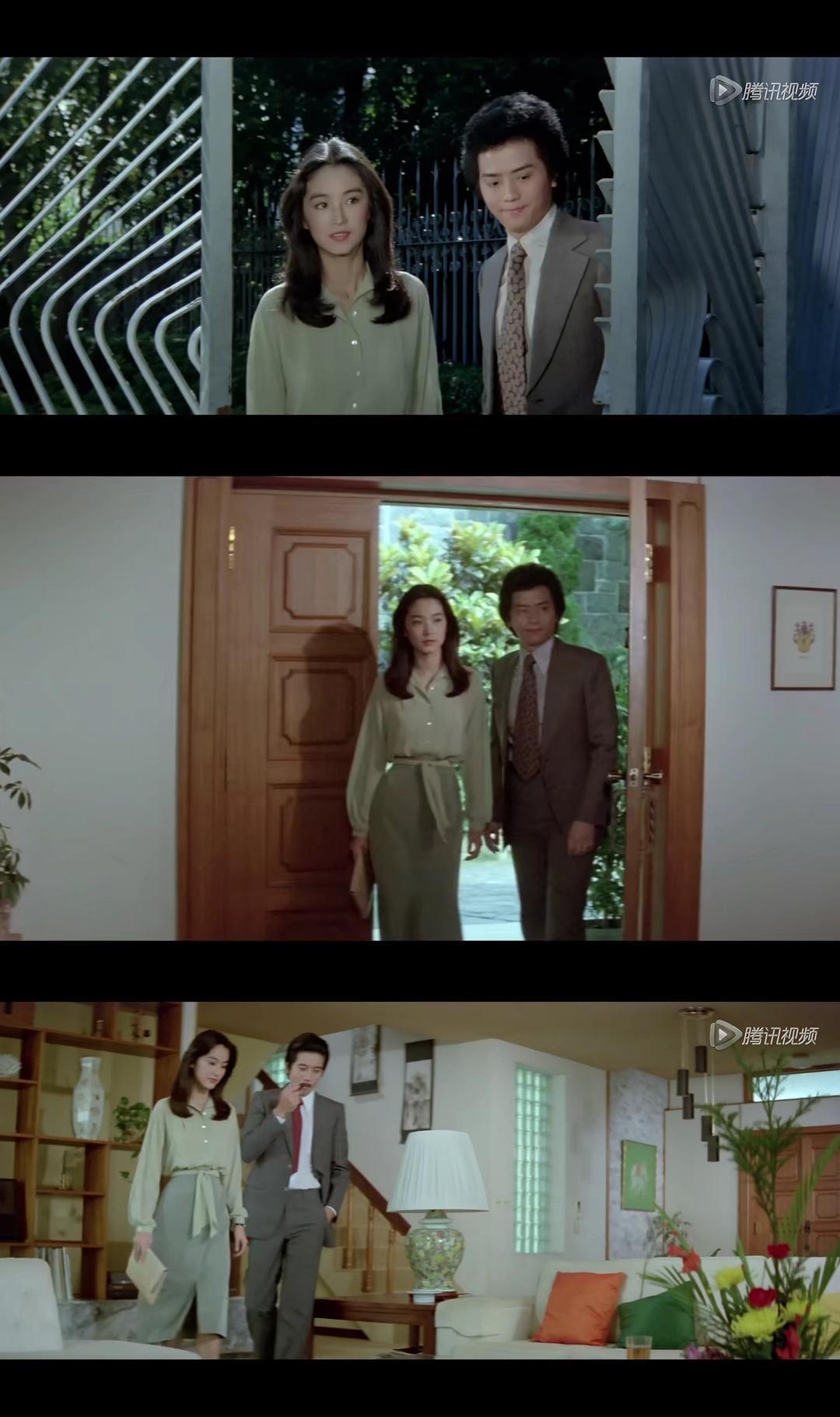 林青霞在《金盏花》里的私服穿搭真的好美,很有自己的味道