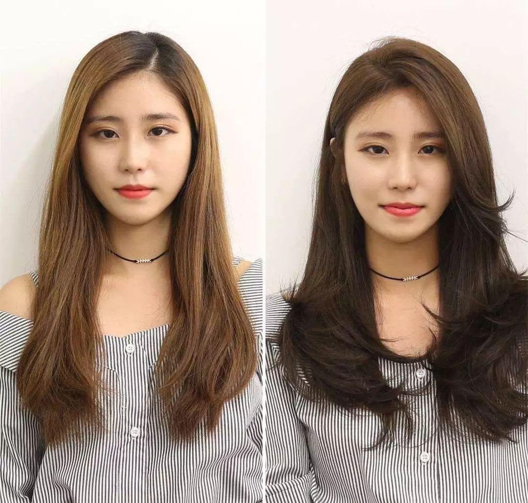 短发发型图片2019女圆脸 适合大脸的短发发型