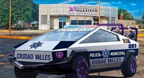 墨西哥和迪拜警队宣布将装备特斯拉皮卡