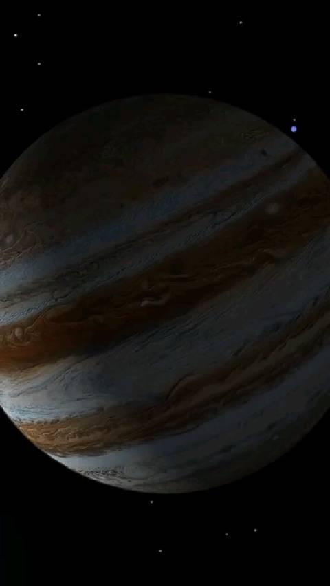 能装下1300个地球的木星,时刻都在保护者地球被陨石撞击的风险