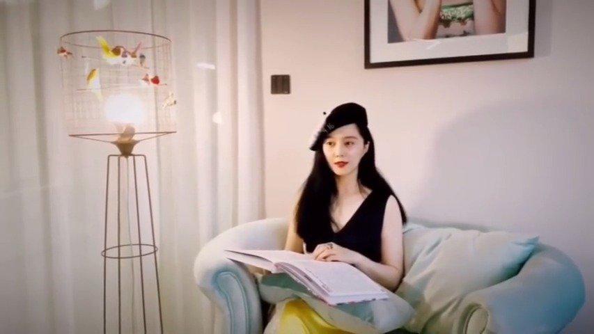 18日深夜,@范冰冰粉丝团 在微博晒出了@范冰冰 首支vlog
