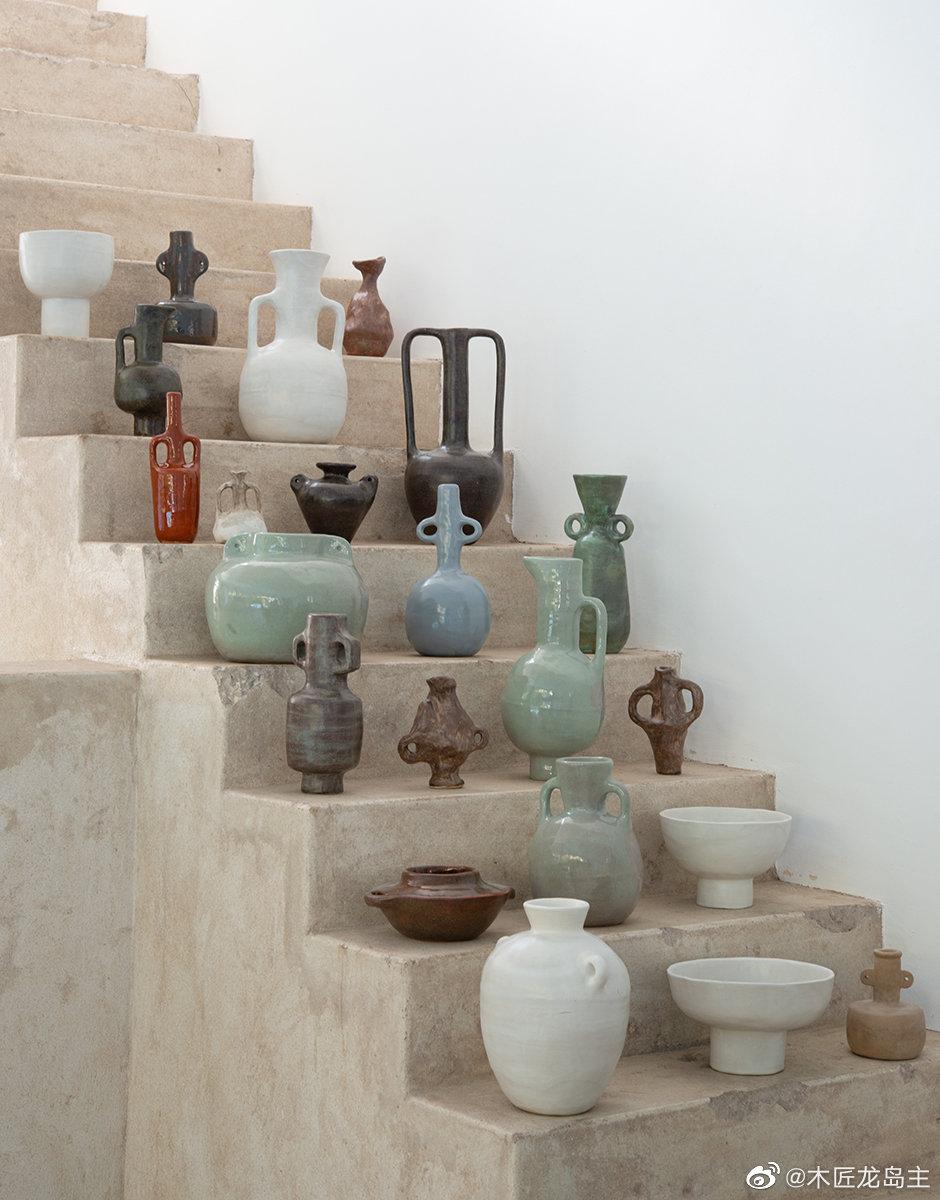 陶瓷艺术家杰德·佩顿(Jade Paton)的 父母在开普敦(Cape Town)拥