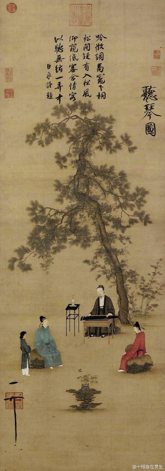 宋徽宗赵佶流传署名书画不少,但多数非独立完成