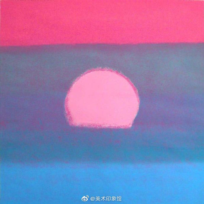 日出与日落。作者:安迪沃霍尔
