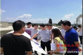 近日,中粮集团物流产业负责人受邀到寻甸县考察物流产业项目