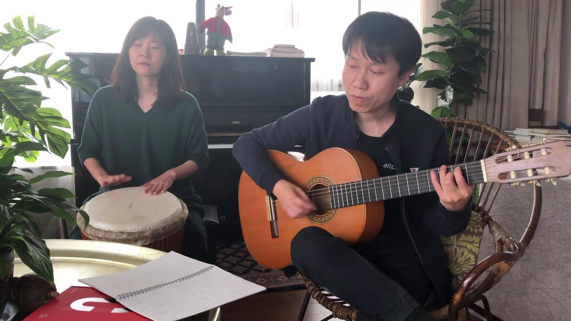 听听我们这首不太一样的云南民歌—小河淌水編曲/吉他:@贾锦江