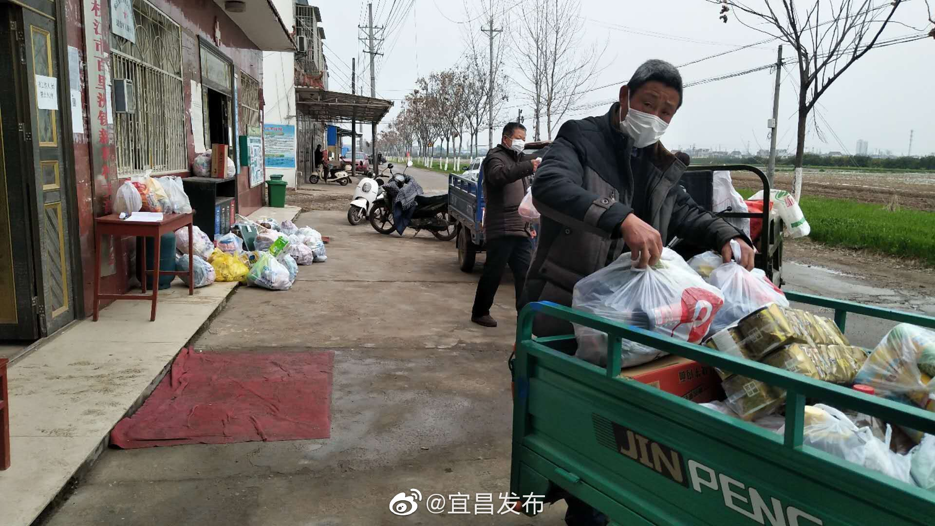 枝江百里洲镇新和村全力做好疫情居家隔离人员生产生活保障