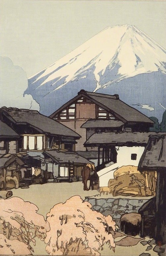 """日本近现代版画巨匠 吉田博 的版画艺术,""""物哀""""是日本美学的源流"""