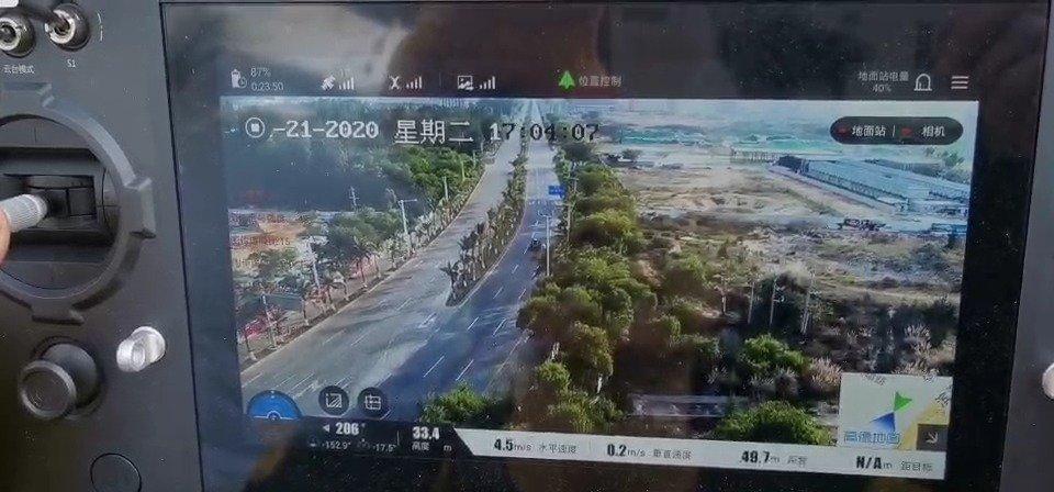 勿占用应急车道!春节期间海南交警启用无人机协助执法