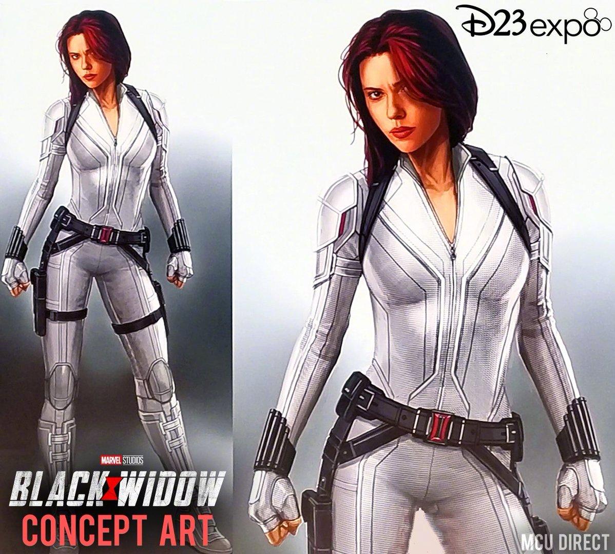 《黑寡妇》斯佳丽·约翰逊白衣战服、《猎鹰与冬兵》和《旺达·幻视》的