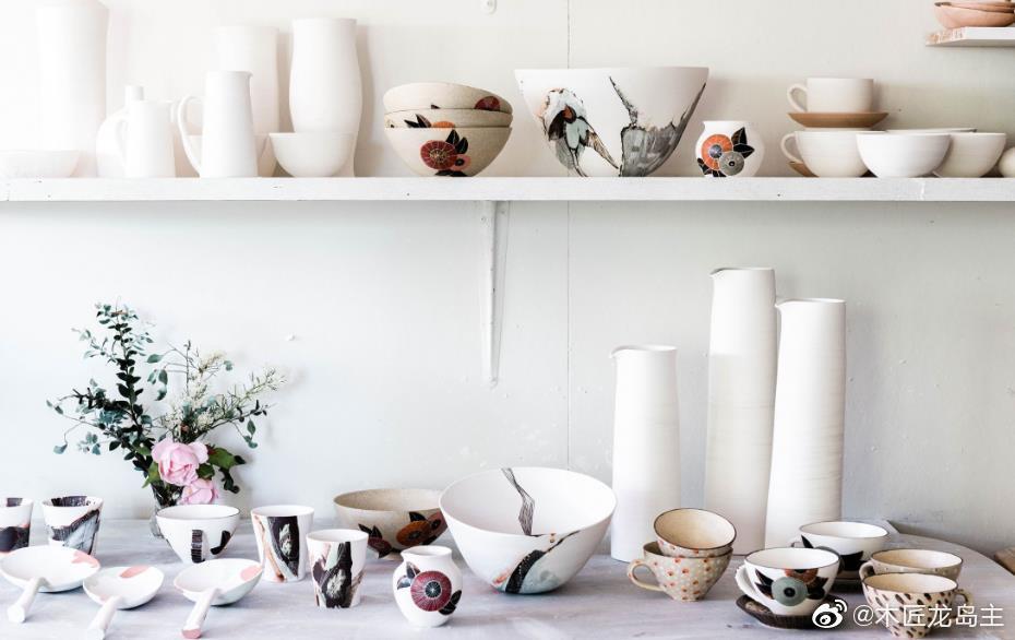 陶瓷艺术家香农·加森(Shannon Garson)在过去的20年中一直在磨练自