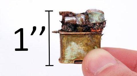 世界上最小的老旧打火机修复,油管:Odd Tinkering