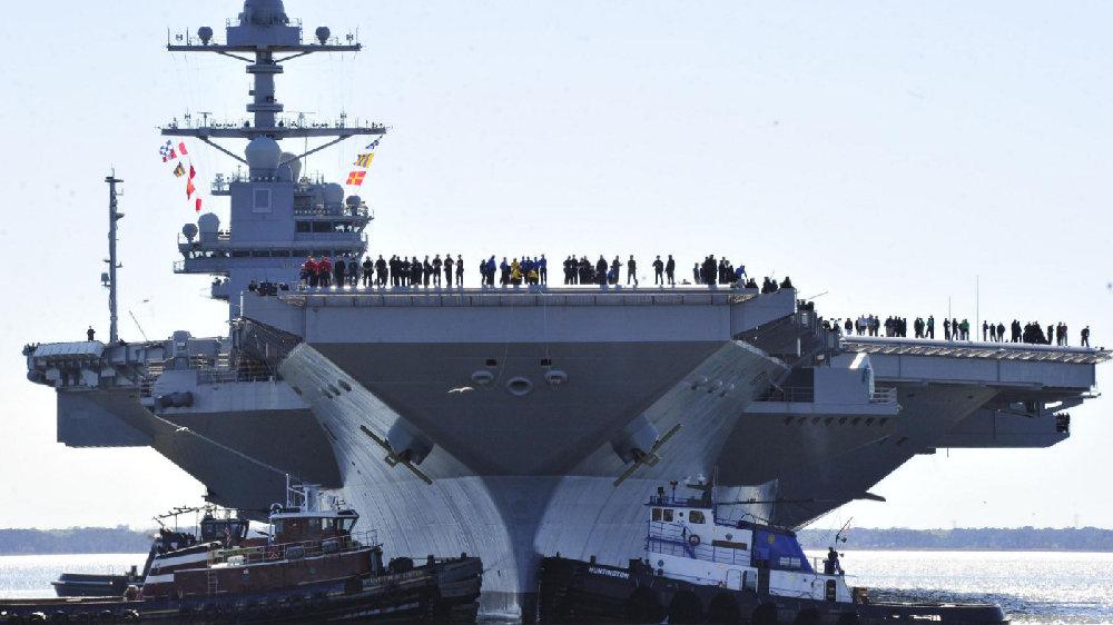 限价110亿!美海军想为福特2号舰配F18,国会:没有F35要它何用?
