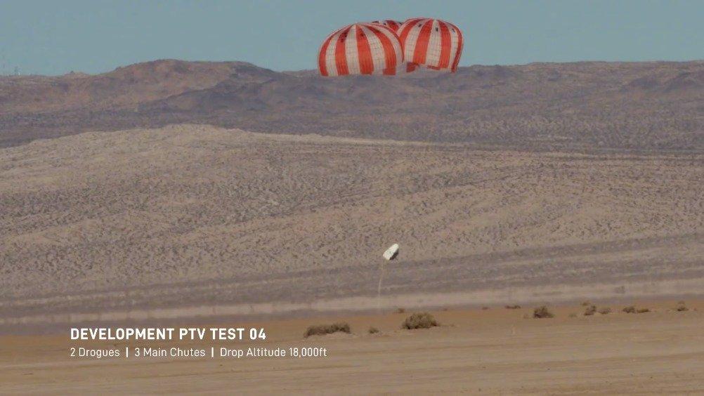 周末早~来欣赏下 Space X 太空舱 Crew Dragon 最新的回收测试视频