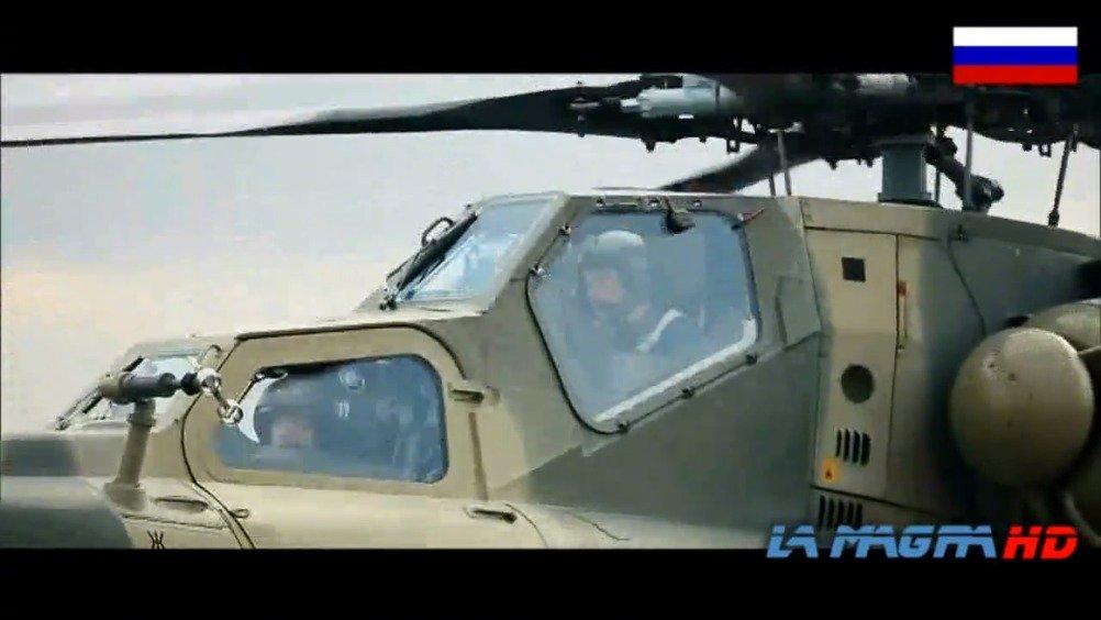 俄罗斯Mi-28N夜猎人 - 攻击直升机,实弹演习