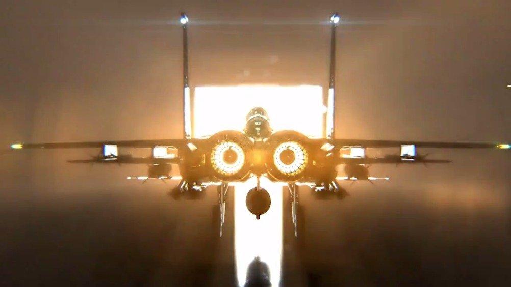 波音发布最新F-15EX战斗机宣传片