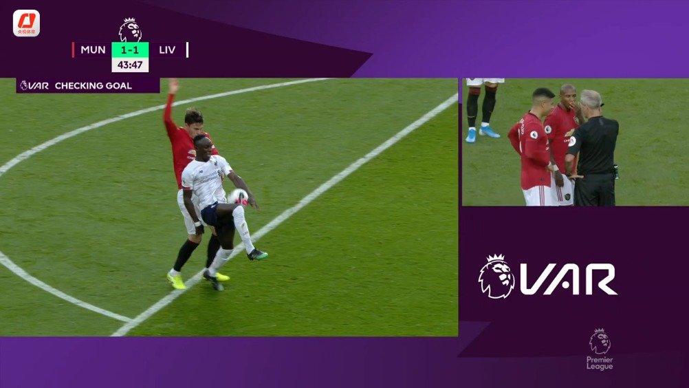 拉什福德破门 拉拉纳救主 曼联主场1-1战平利物浦