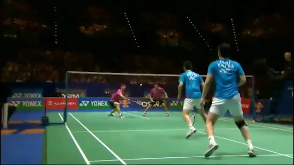 经典回顾之2012年全英公开赛决赛 郑在成/李龙大2-1蔡赟/傅海峰