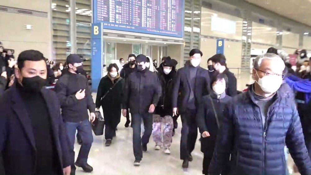 防弹少年团BTS结束海外日程