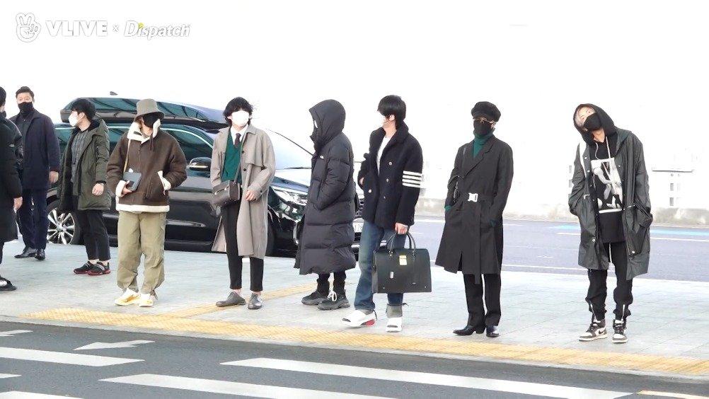 20日, 经仁川机场出发,前往美国纽约参加海外日程。