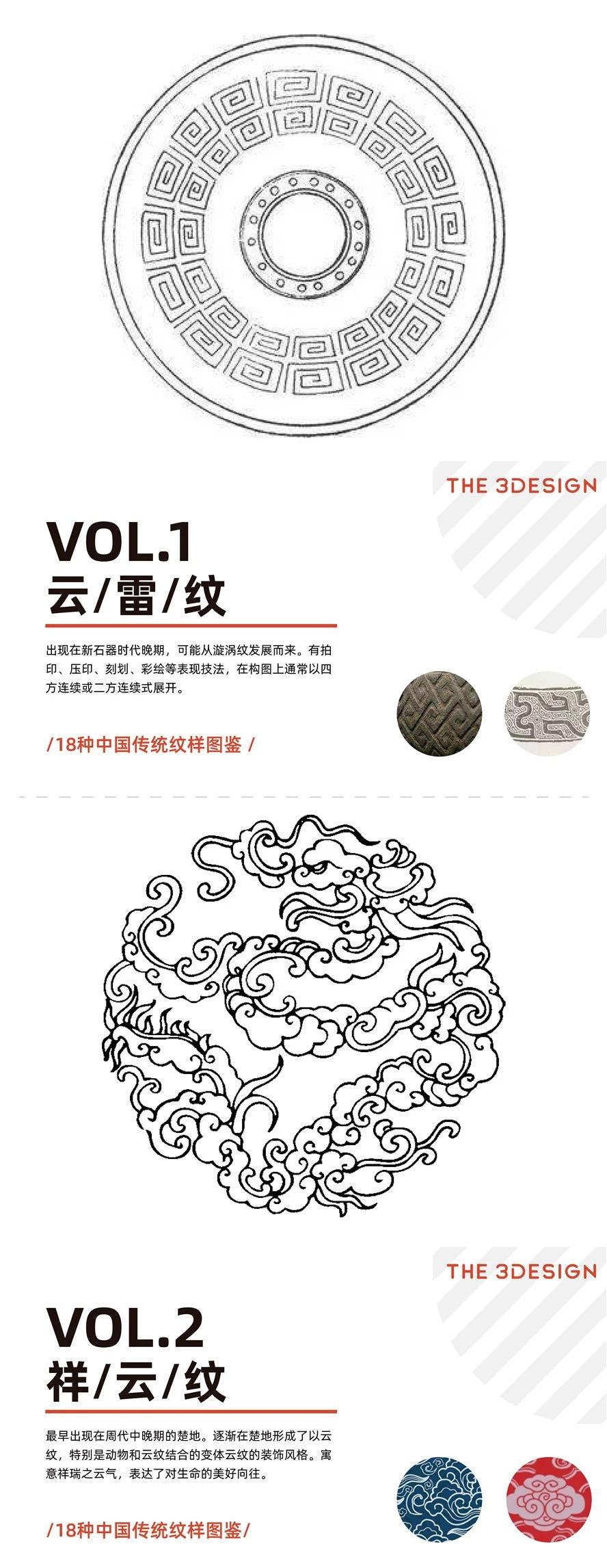 涨姿势!设计师应该要了解的18种中国传统纹样…