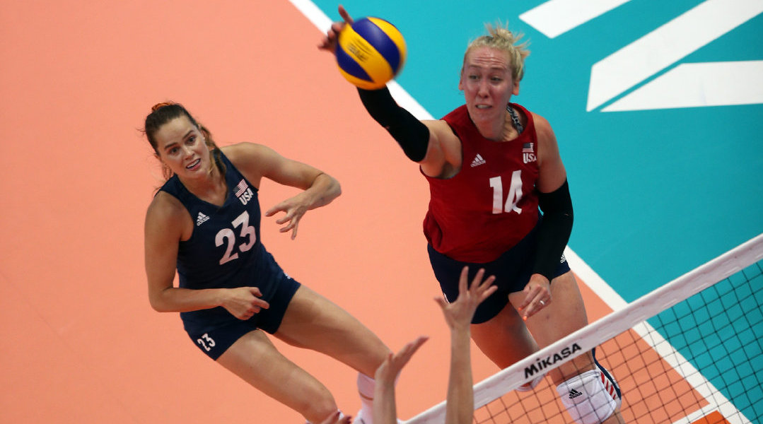 叶卡捷琳堡站:巴奇16分 美国女排3-0完胜俄罗斯