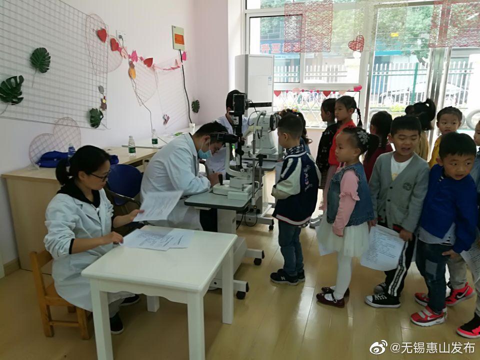 洛社镇卫生院开展幼儿视力筛查