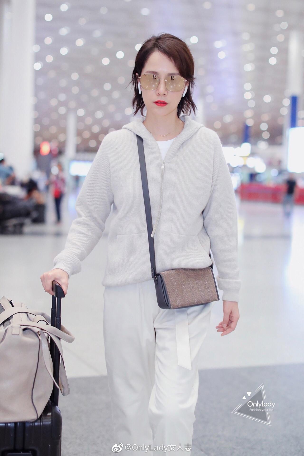 @海清 受Brunello Cucinelli品牌独家邀请启程米兰时装周
