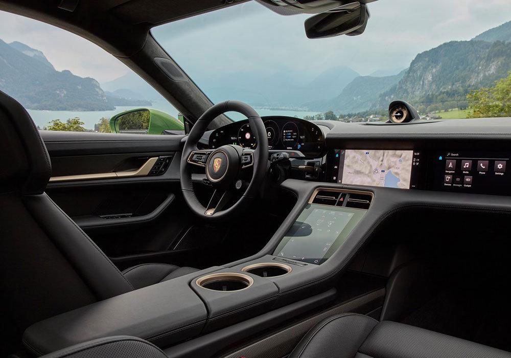 首款全电动跑车 2020款保时捷Taycan Turbo S官图发布