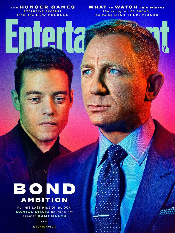 《007:无暇赴死》登上《娱乐周刊》封面,真