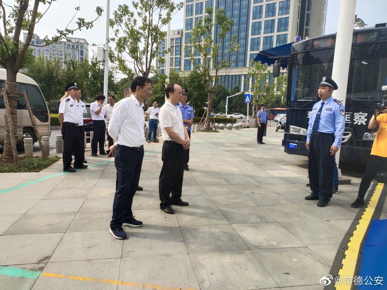 市委书记、市人大常委会主任周德睿,市委常委、政法委书记黄清宇