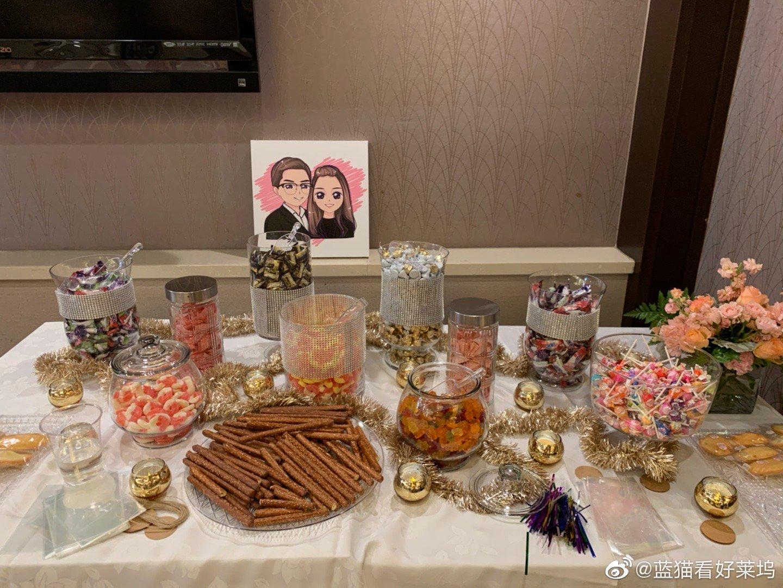 给你们看我今天去的没有婚礼策划的普通美国华人婚礼,在中国餐厅