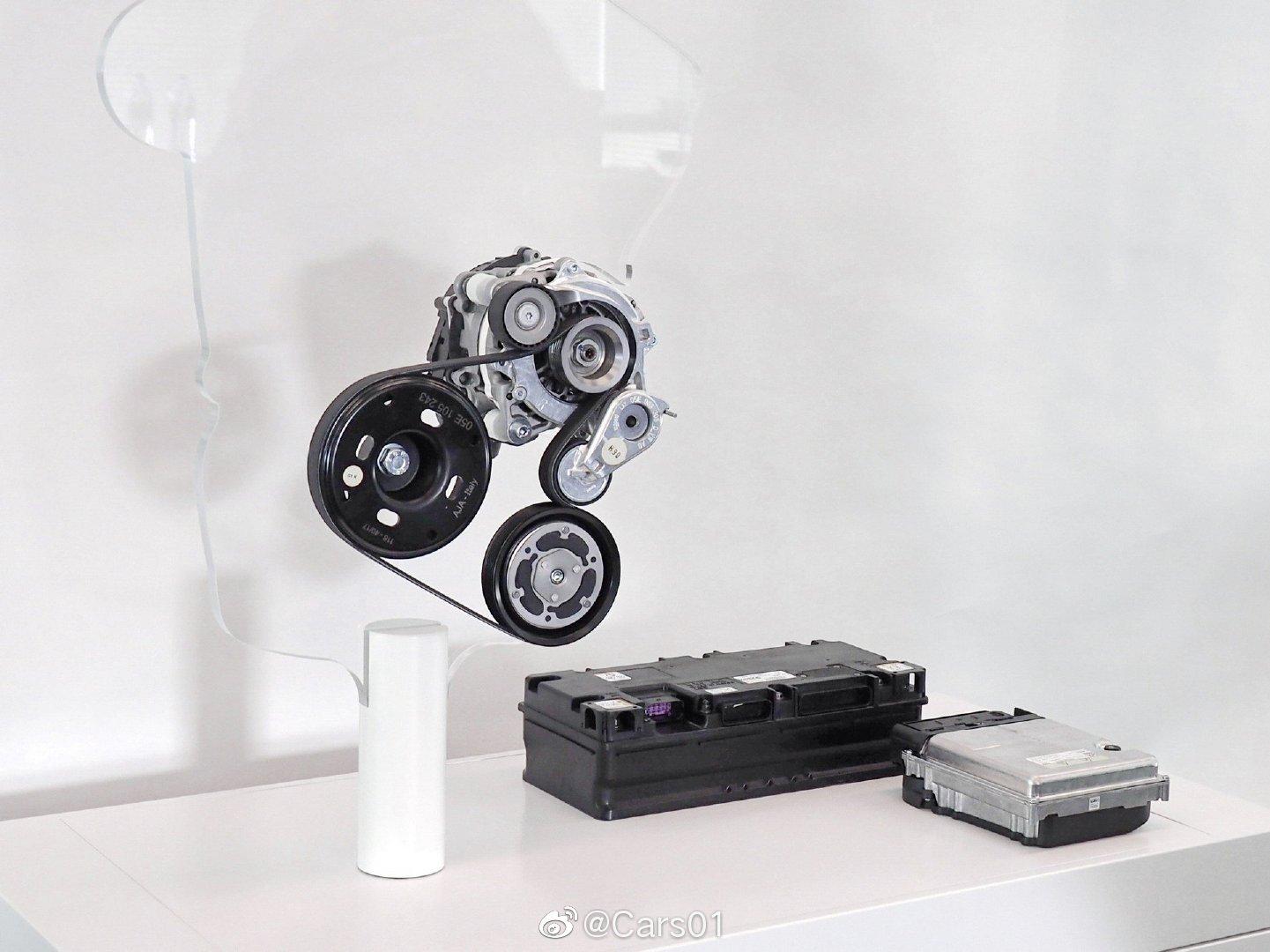 全新一代大众高尔夫混动版48V电气系统发布